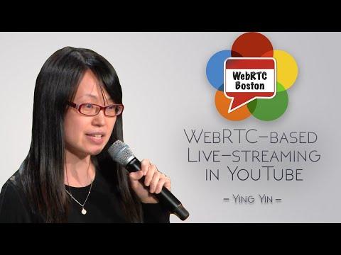 WebRTC based Live streaming in YouTube (YouTube)